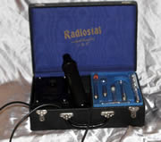 Lovely 5pc Radiostat Violet Wand / Violet Ray